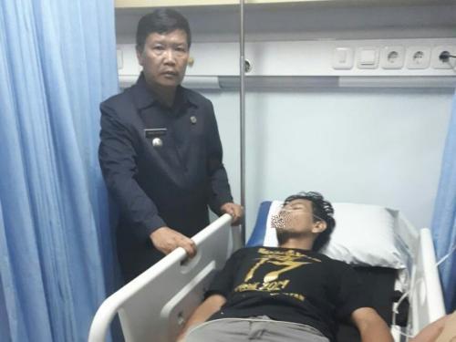 Petugas KPPS Kota Bogor Sakit Akibat Kelelahan (foto: Putra RA/Okezone)