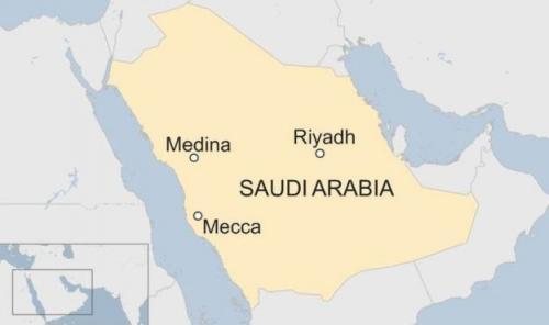 Hukuman mati tersebut dilaksanakan di beberapa lokasi termasuk di ibu kota Saudi, Riyadh, Mekah dan Madinah. (BBC)