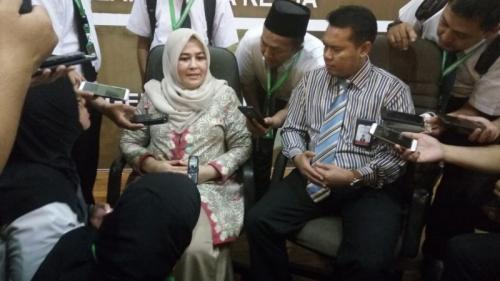 Direktur Layanan Haji Luar Negeri Sri Ilham Lubis. (Foto : Okezone.com/Widi Agustian)