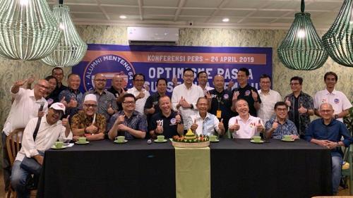 Jokowi-Ma'ruf Menang Quick Count, Relawan Alumni Menteng 64 Gelar Syukuran. (ist)