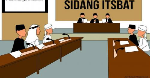 ilustrasi sidang isbat (Dok Okezone)