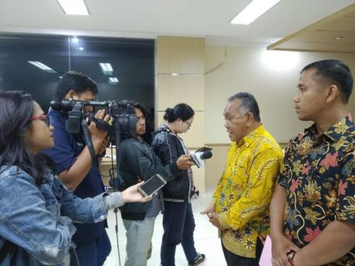 Organisasi Gabungan Lintas Partai Tapanuli Tengah Laporkan ASN Diduga Terlibat Kecurangan Secara Masif dalam Pemilu 2019 ke Bawaslu RI (foto: Ist)