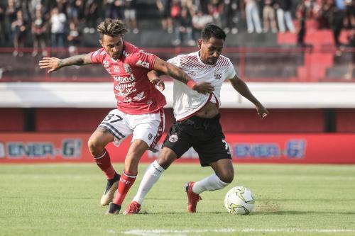 Bali United vs Persija Jakarta (Foto: Twitter Bali United)