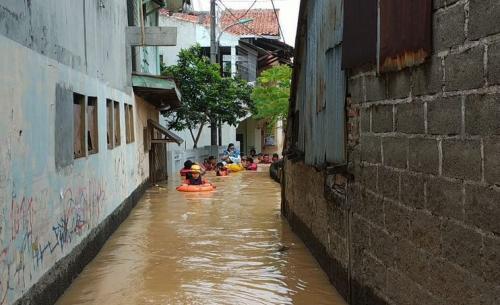 Banjir di Kalibata