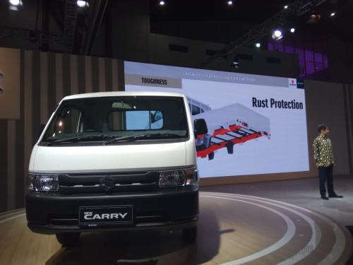 Peluncuran Suzuki New Carry (foto: Mufrod/Okezone)