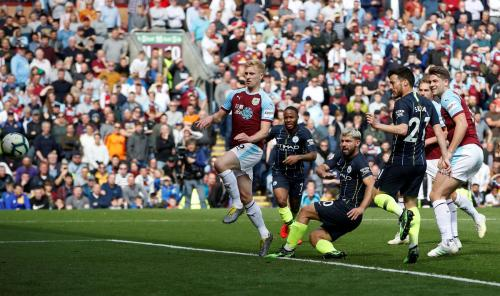Burnley vs Man City (Foto: Premier League)