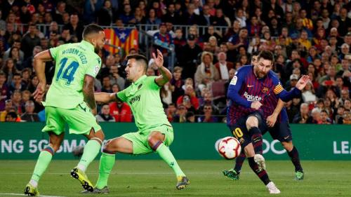 Laga Barcelona vs Levante