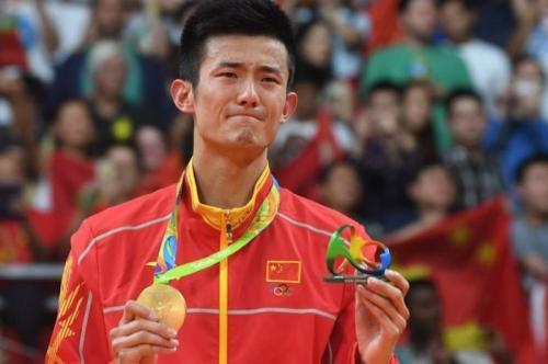 Chen Long sabet medali emas Olimpiade Rio 2016