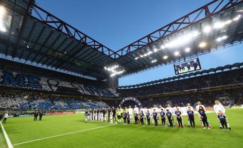 Pertemuan terakhir Juventus dan Inter Milan berakhir sama kuat (Foto: Situs resmi Inter Milan)