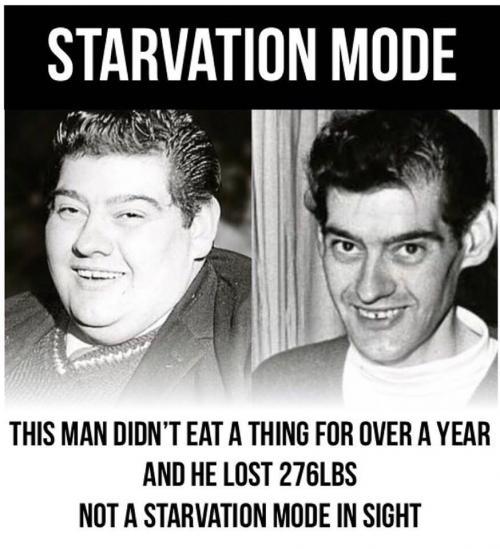 Pria Tidak Makan