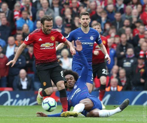 Man United vs Chelsea (Foto: Twitter Man United)