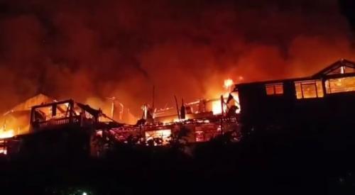 Illustrasi Kebakaran