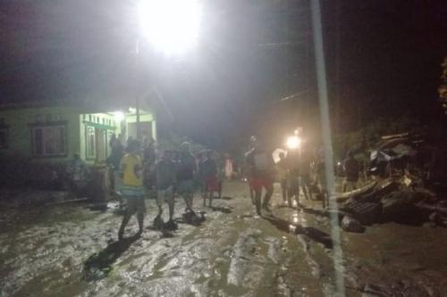 Banjir di Desa Balongga, Kabupaten Sigi. (Foto: Dok ACT)