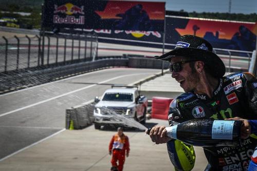 Valentino Rossi kini telah menjadi ikon MotoGP