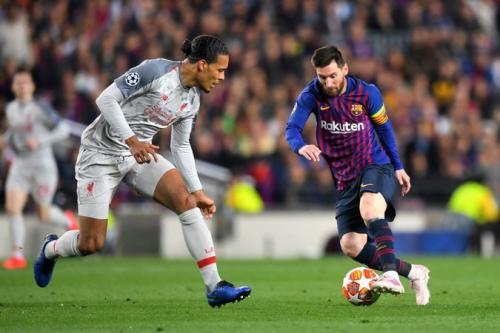 Van Dijk vs Messi