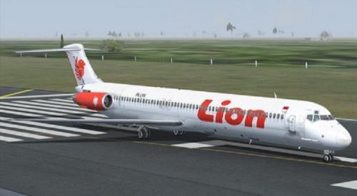 Ilustrasi pesawat Lion Air Foto: Ist