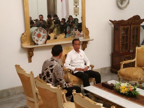 AHY di Istana Negara