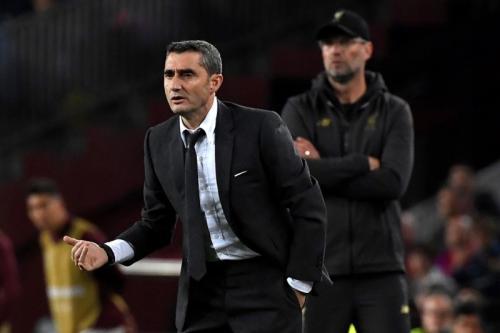 Valverde di laga Liverpool vs Barcelona