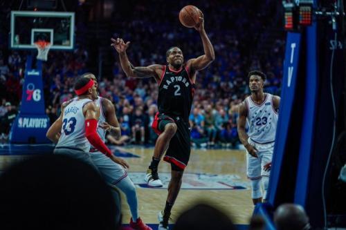 Philadelphia 76ers vs Toronto Raptors (Foto: Raptors/Twitter)