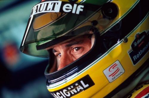 Ayrton Senna punya kenangan manis bersama Honda (Foto: Twiter/Williams Racing)