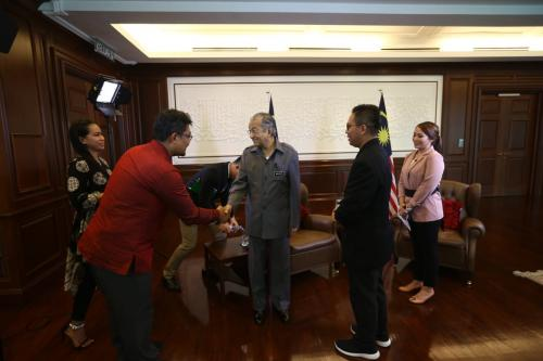 Wawancara eksklusif MNC Media dengan PM Malaysia Mahathir Mohamad. (Foto: MNC Media)