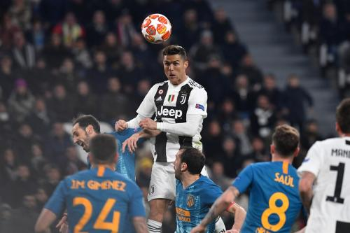 Cristiano Ronaldo menjadi andalan Juventus