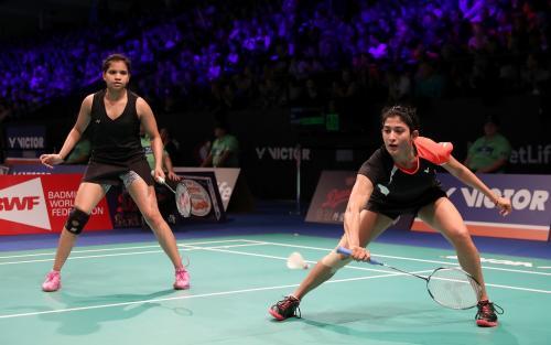 Ashwini Ponnappa dan Sikki Reddy