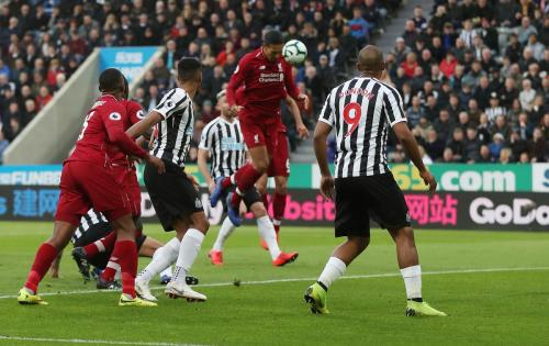 Newcastle vs Liverpool (Foto: Twitter Premier League)