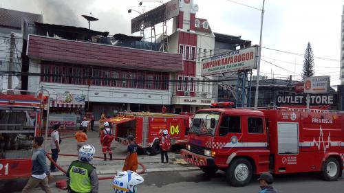 Restoran Padang terbakar