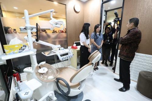 Hary Tanoesoedibjo Buka MNC Healthcare Center Berfasilitas Canggih & Harga Terjangkau. (Ist)