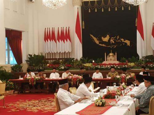 Buka puasa bersama Jokowi