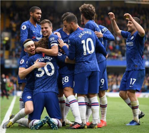 Chelsea (Foto: Twitter Premier League)