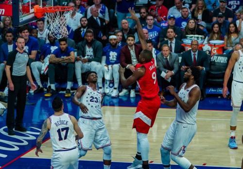 Philadelphia 76ers vs Toronto Raptors