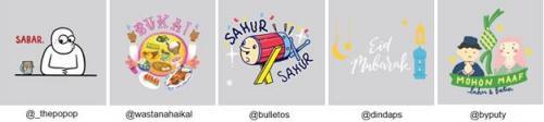 Stiker Instagram Ramadan