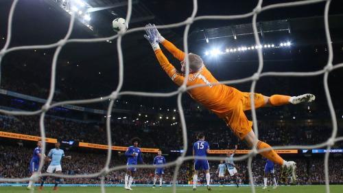 Man City vs Leicester City (Foto: Premier League)