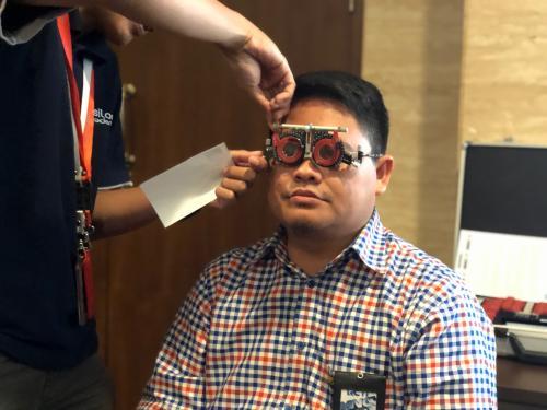 Periksa Kesehatan Mata