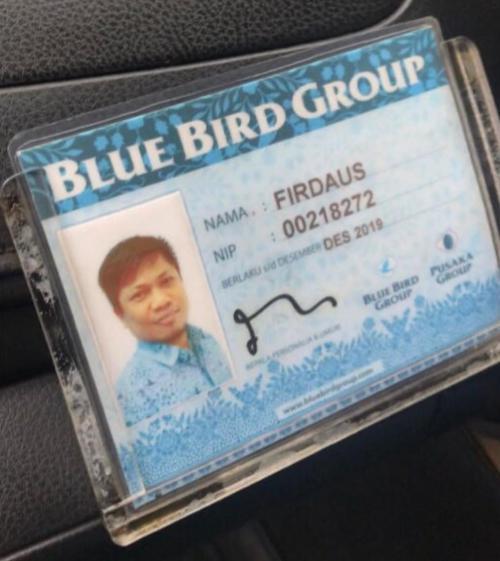Korban Pemukulan Sopir Taksi Blue Bird (foto: Instagram/Ist)