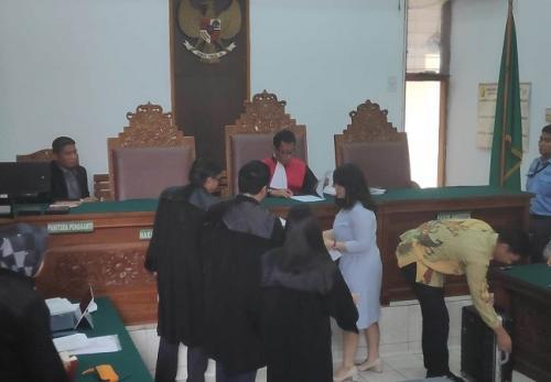 Romi PPP saat sidang
