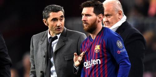 Leo Messi dan Valverde