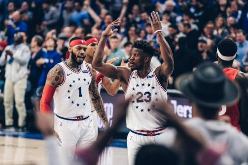 Philadelphia 76ers vs Toronto Raptors (Foto: Sixers/Twitter)