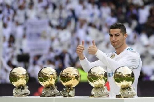 Cristiano Ronaldo meraih banyak kesuksesan di Madrid (Foto: AFP)