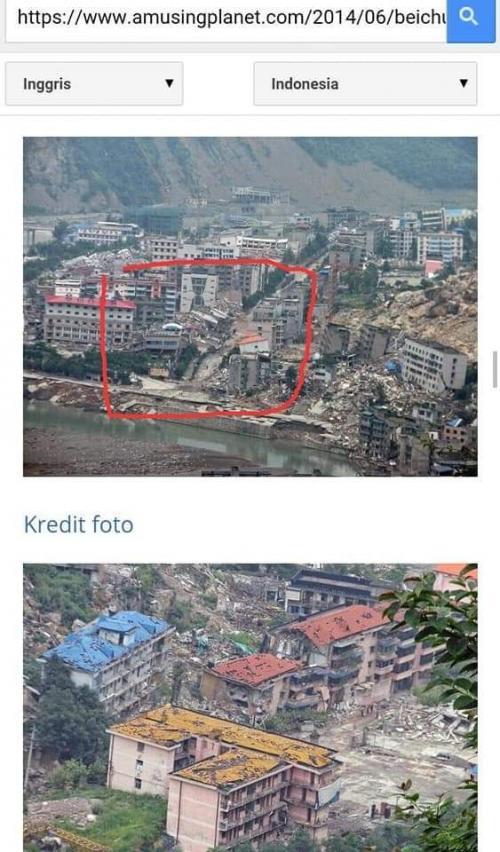 Cek Fakta Gempa Dahsyat di Israel (foto: Ist)