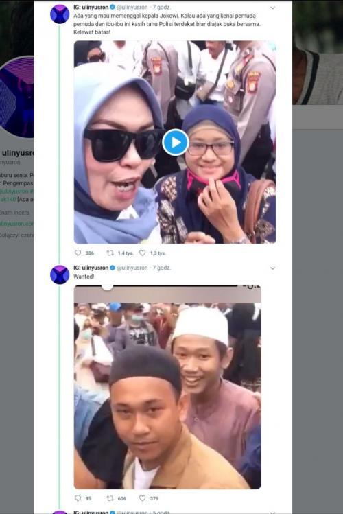 Ancam Penggal Jokowi