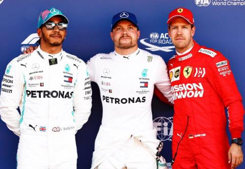 Hamilton x Bottas x Vettel