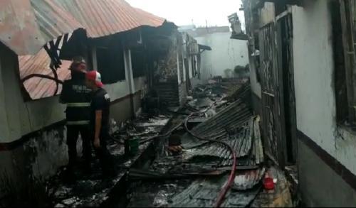 Kondisi Rutan Kelas II B Siak, Riau Pasca-Kerusuhan para 11 Mei 2019 (foto: Banda Haruddin Tanjung/Okezone)