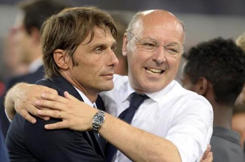Antonio Conte dan Giuseppe Marotta
