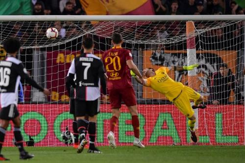 AS Roma vs Juventus (Foto: Twitter AS Roma)