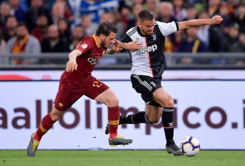 AS Roma vs Juventus (Foto: Juventus/Twitter)