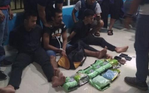 Penangkapan pengedar Sabu di Bangka Belitung (Humas BNN)