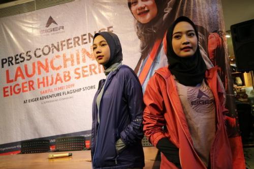 Hijab sport untuk wanita muslimah